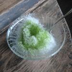 和食処 田舎家 - かき氷