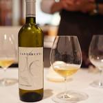 オステリア・エノテカ・ダ・サスィーノ - 唯一、自家製ではないワイン笑
