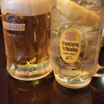 113799802 - 生ビール&ジンジャーハイボール