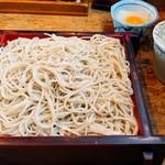 上の家 鶴岡 - 料理写真:おろしせいろ ¥720 大盛り ¥130
