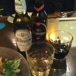 ガストハウス 44 - ビール(ビットブルガー ピルス・ケストリッツァー シュバルツ)