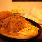 kicchinkarori- - ポークカツとカロリー焼 (760円)