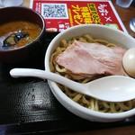 えびすこ - つけ麺大盛り+味玉