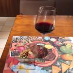 アンディカフェ - 私はワイン党ですが!