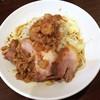 ピコピコポン - 料理写真:冷やし中華ニンニクアブラ 880円