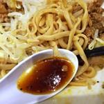 ピコピコポン - タレと麺(冷やし中華)