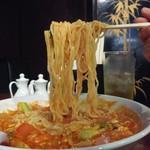 中華料理 富記 - トマト麺800円麺アップ