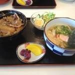 めん処 喜多野 - 牛丼セット