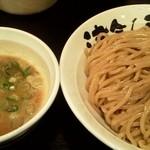 つけ麺 津気屋 - 津気屋つけ麺(麺大盛り) 味玉トッピング