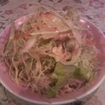 インドカレー カマナ - 料理写真:付け合わせのサラダ