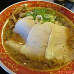 味見鶏まるめん - 背脂醤油ラーメン 720円