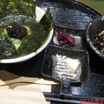 金の穂銀の水 - よりどり三膳 800円 (1/3)