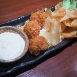 圭助 - ホタテのフィッシュ&チップス