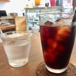 ムトウ コーヒー ロースタリー - アイスコーヒー  600円