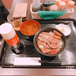 113813702 - 太陽ソースカツ丼¥800+税