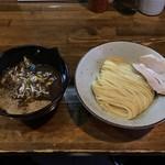 ラーメン豚極有 - 料理写真:201908  ドロドロニボニボつけめん(麺少なめ)