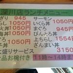 すしざんまい 深川店 -