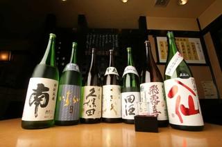 升亀 - 地酒蔵出しコース(地酒も飲み放題付)4,600円 ⇒3980円!