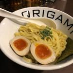 オリガミ - 麺アップ