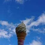 113822873 - 青空とソフトクリーム