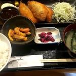 すぎ屋 - アジフライ定食¥800