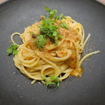 リストランテ エクリュ - 北海道産真鰯とウイキョウのスパゲッティーニ