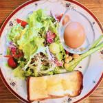 ナカニシ珈琲 - 料理写真:一日中モーニングセット
