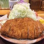 とんかつ竹亭 - 料理写真:とんかつ定食(900円)