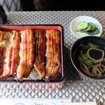 いわま亭 - 料理写真:鰻重(松)