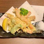 113830493 - ズワイガニの天ぷら ¥1,280