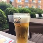 ビアガーデンテラス - 生ビール