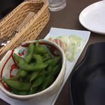 ビアガーデンテラス - 枝豆