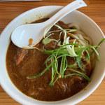 あかみち - 料理写真:黒カレーうどん