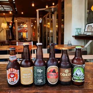多彩なタパスとともに日本各地のクラフトビールはいかがですか♪