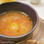 113834405 - ランチのスープ