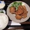 弁天 - 料理写真:ランチ 唐揚げ定食 税込み1000円