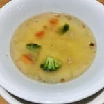 ポポラマーマ - ランチセットのスープ