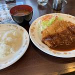 レストラン井高野 - 料理写真:ポークカツ 870円