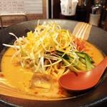 麺場 田所商店 - 冷やしタンタン麺のUP。