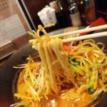 麺場 田所商店 - 麺のリフトアップ♪