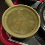 113845433 - 鶏コンソメと根菜のスープ