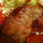 キッチンハタノ - ハンバーグ本体
