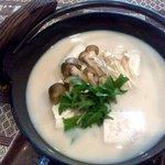 亜蔵あくら - 豆乳鍋、亜蔵豆乳鍋御膳のメニュー(期間限定)