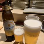 toriyoshi - 生ビールとノンアルコールビール