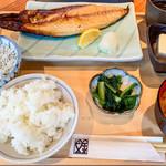 神田魚金 - 大トロの鯖焼き定食 1,000円