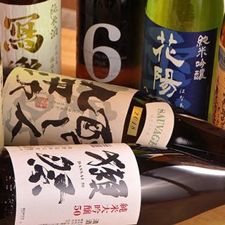 全国の日本酒は季節の銘酒もご用意!ノンアルドリンクも豊富◎