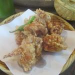 山の寺 邑居 - 鶏のから揚げ