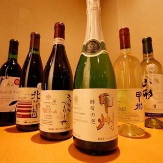 ソムリエ厳選のこだわり日本ワイン30種と世界ワイン40種!