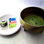 nikiniki - 折角なので、お抹茶といただきました❣