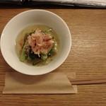 イサナブルーイング ブルワリー&ロースタリー - 季節のおひたし(小松菜)¥390